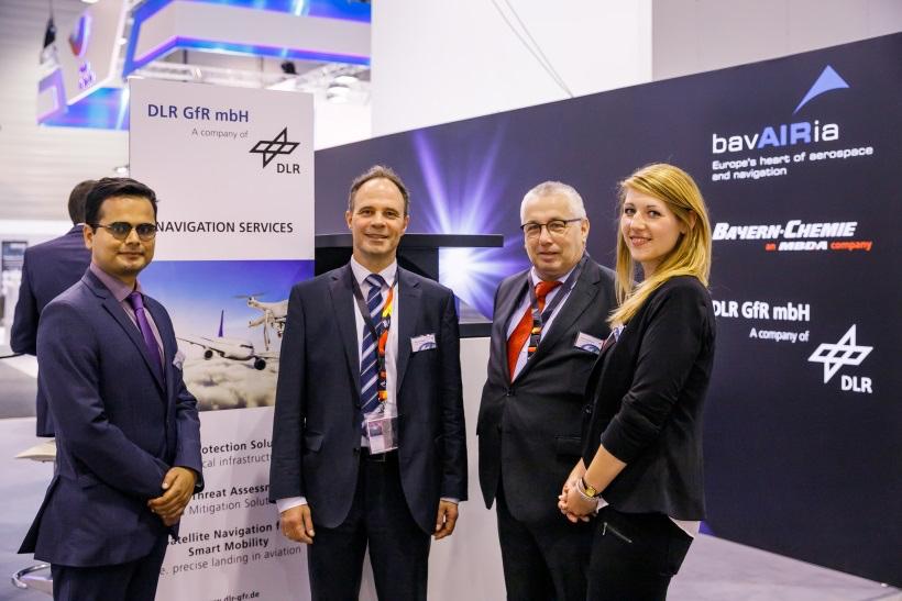Die DLR GfR mbH auf der ILA Air Show 2018